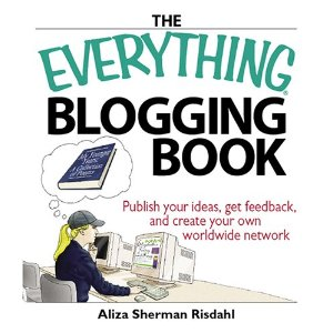 This book has everything but the kitchen sink to do with blogging questions I had as a beginner