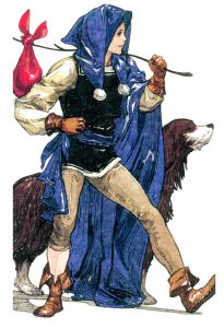 The Fool from The Mystic Tarot Deck (Image courtesy of http://mysticst4r.wordpress.com/)