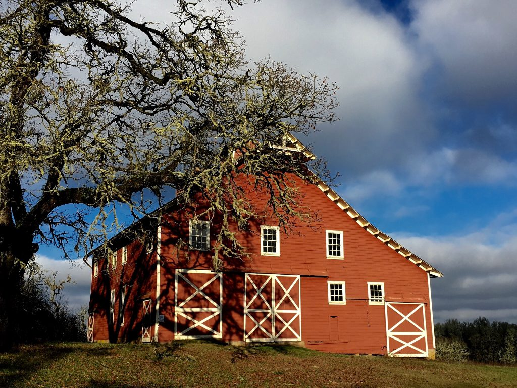 The Barn at Finley National Wildlife Refuge, Corvallis, Oregon