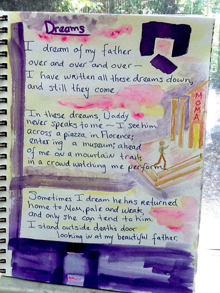 I pulled the skein of my artwork and dreams together into this poem. Source: http://mindonfire.us/2011/12/30/boketto-gazing-into-the-distance/