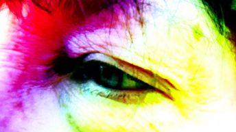 My Rainbow Eye,both familiar and strange