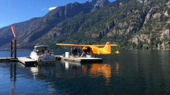 Seaplane at Stehekin